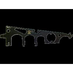 """Ключ оружейный """"Гребешок"""""""