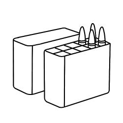 Ящики и кейсы для патронов